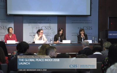Watch the Global Peace Index 2018 launch at CSIS here